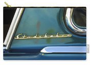 1953 Studebaker Champion Starliner Abstract Carry-all Pouch by Jill Reger