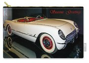 1954 Chevrolet Corvette Convertible Carry-all Pouch