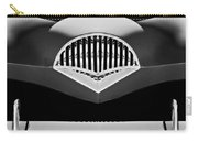 1954 Kaiser Darrin Grille Black And White Carry-all Pouch