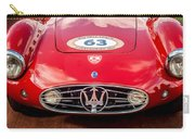 1954 Maserati A6 Gcs Grille -0255c Carry-all Pouch