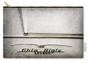 1955 Alfa Romeo 1900 Css Ghia Aigle Cabriolet Grille Emblem - Super Sprint Emblem -2266ac Carry-all Pouch
