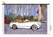 1955 Corvette Six Roadster Carry-all Pouch