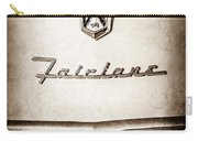 1955 Ford Fairlane Crown Victoria Emblem -1713s Carry-all Pouch