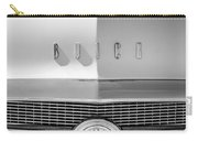 1956 Buick Special Hood Ornament - Emblem -0538bw Carry-all Pouch