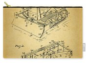 1956 Bulldozer Patent Carry-all Pouch