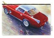 1956 Ferrari 410 Superamerica Scaglietti Series Carry-all Pouch