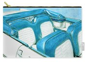 1956 Ford Fairlane Convertible 1 Carry-all Pouch
