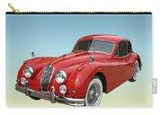 1956 Jaguar Xk 140 Mc Carry-all Pouch