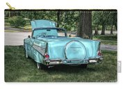 1957 Bel Air  Blue Convertible  Carry-all Pouch