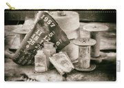 1957 Calendar Bw Carry-all Pouch