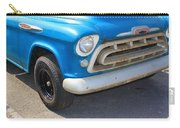 1957 Chevy - Chevrolet Pickup Grille And Logos Carry-all Pouch
