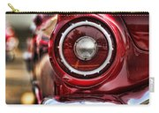 1957 Ford Thunderbird Red Convertible Carry-all Pouch