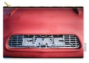 1957 Gmc Pickup Truck Grille Emblem -0329c1 Carry-all Pouch