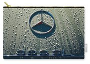 1957 Mercedes Benz 300sl Roadster Emblem Carry-all Pouch by Jill Reger