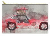 1957 Mercedes Gullwing Carry-all Pouch