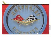 1958 Chevrolet Corvette Emblem Carry-all Pouch