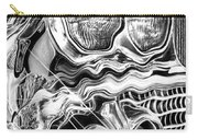 1958 Impala Beauty Within The Beast Carry-all Pouch