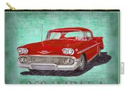 1958 Impala By Chevrolet Carry-all Pouch