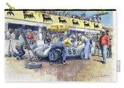 1958 Targa Florio Porsche 718 Rsk Behra Scarlatti 2 Place Carry-all Pouch