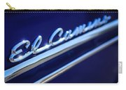 1959 Chevrolet El Camino Emblem -0008c Carry-all Pouch
