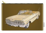 1959 Chevrolet Impala Convertible Carry-all Pouch