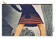 1960 70 Fashion Shot Of Female Model In Usa Carry-all Pouch