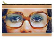 1960 70 Stylish Female Glasses Advertisement 3 Carry-all Pouch