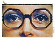 1960 70 Stylish Female Glasses Advertisement 4 Carry-all Pouch