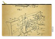 1960 Bulldozer Patent Carry-all Pouch