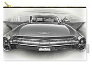 1960 Cadillac - Vignette Bw Carry-all Pouch