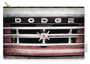 1960 Dodge Truck Grille Emblem -0275ac Carry-all Pouch