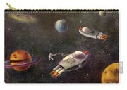 1960s Outer Space Adventure Carry-all Pouch