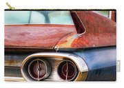 1961 Cadillac Tail Light And Fin Carry-all Pouch