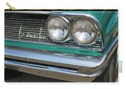 1961 Pontiac Catalina Grille With Headlights And Logo Carry-all Pouch