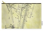 1962 Helicopter Patent Carry-all Pouch