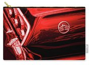 1963 Chevrolet Impala Ss Red Carry-all Pouch