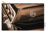 1963 Chevy Impala Ss Sepia Carry-all Pouch
