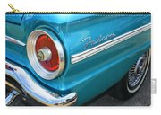 1963 Ford Falcon Tail Light And Logo Carry-all Pouch