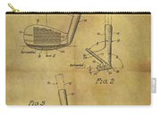 1963 Sand Wedge Patent Carry-all Pouch