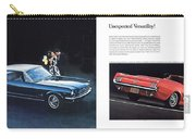 1964 Ford Mustang-08-09 Carry-all Pouch