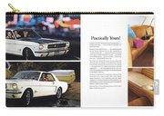 1964 Ford Mustang-10-11 Carry-all Pouch