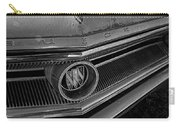 1965 Buick Hood Ornament B And W Carry-all Pouch