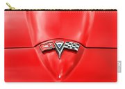 1965 Chevy Corvette Hood Scoop Carry-all Pouch by Gordon Dean II
