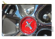 1965 Classic Ford Mustang Rim Color Carry-all Pouch