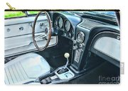 1965 Corvette Inside The Cockpit Carry-all Pouch