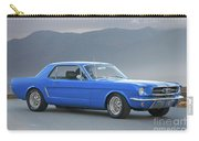 1965 Ford Mustang 'blue Coupe' I Carry-all Pouch