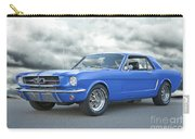 1965 Ford Mustang 'blue Coupe' IIa Carry-all Pouch