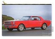 1965 Ford Mustang 'red Coupe' I Carry-all Pouch