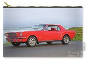 1965 Ford Mustang 'red Coupe' II Carry-all Pouch