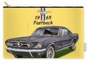Mustang Fastback 1965 Carry-all Pouch